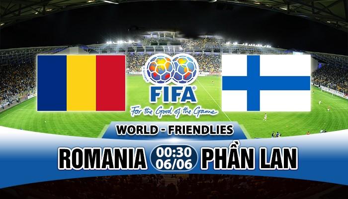 Soi kèo Romania vs Phần Lan, 00h30 ngày 06/06