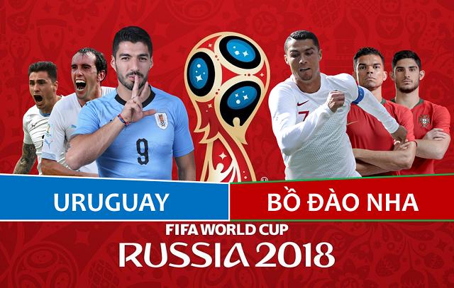 Uruguay-vs-Bồ-Đào-Nha