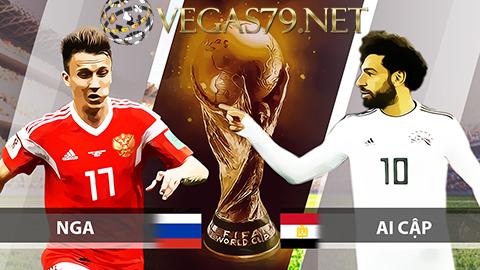 Nhận định Nga vs Ai Cập