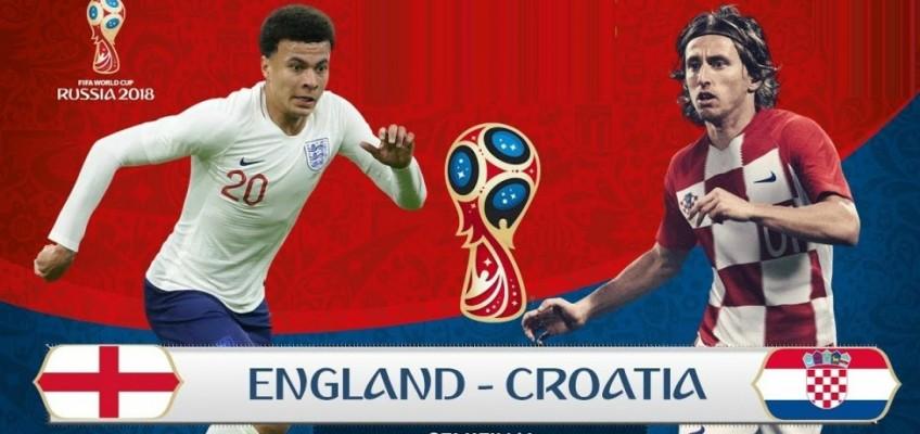 Soi kèo – Nhận định: Anh vs Croatia, 1:00 Ngày 12/07, Vòng Bán Kết 2 World Cup 2018