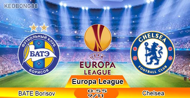 Nhận định – Soi kèo: BATE Borisov vs Chelsea, 0h55 ngày 9/11: Europa League