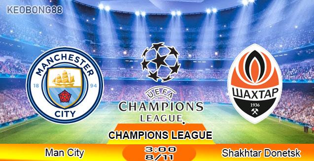 Nhận định – Soi kèo: Man City vs Shakhtar Donetsk, 3h00 ngày 8/11: Champions League