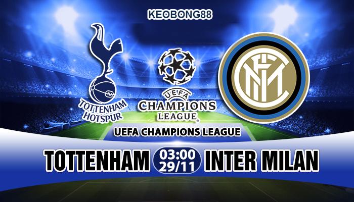 Nhận định – Soi kèo: Tottenham vs Inter Milan, 03h00 ngày 29/11: Champions League