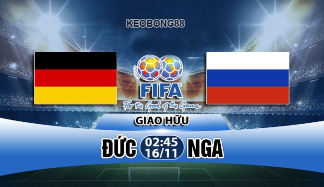 Nhận định – Soi kèo: Đức vs Nga, 02h45 ngày 16/11: Giao hữu quốc tế