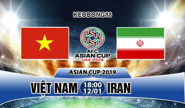 Nhận định – Soi kèo Việt Nam vs Iran, 18h00 ngày 12/01: Asian Cup 2019
