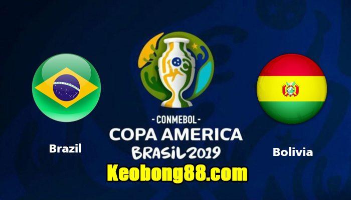 Nhận định – soi kèo Brazil vs Bolivia, 7h30 ngày 15/6: Copa America 2019