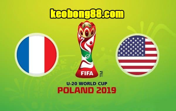 Nhận định U20 Pháp vs U20 Mỹ, 22h30 ngày 4/6: World Cup U20