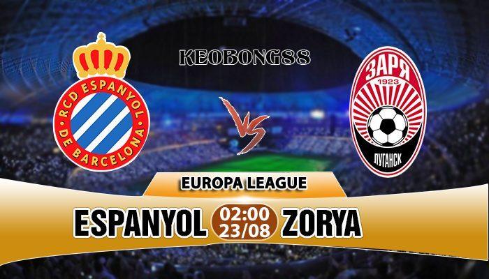 Nhận định Espanyol vs Zorya, 02h00 ngày 23/8: Europa League