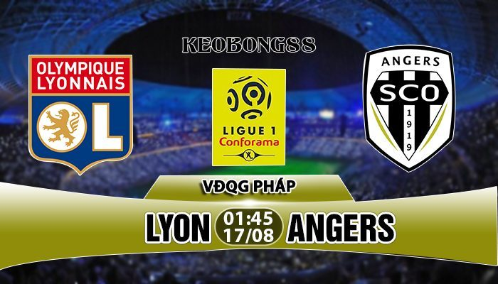 Nhận định Lyon vs Angers, 01h45 ngày 17/8: VĐQG Pháp