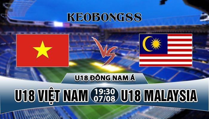 Nhận định U18 Việt Nam vs U18 Malaysia, 18h30 ngày 07/8: VĐ ĐNA 2019