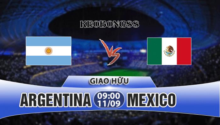 Nhận định Argentina vs Mexico, 09h00 ngày 11/9: Giao hữu quốc tế