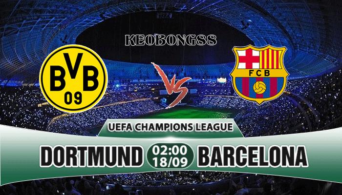 Nhận định Dortmund vs Barcelona, 02h00 ngày 18/09: UEFA Champions League
