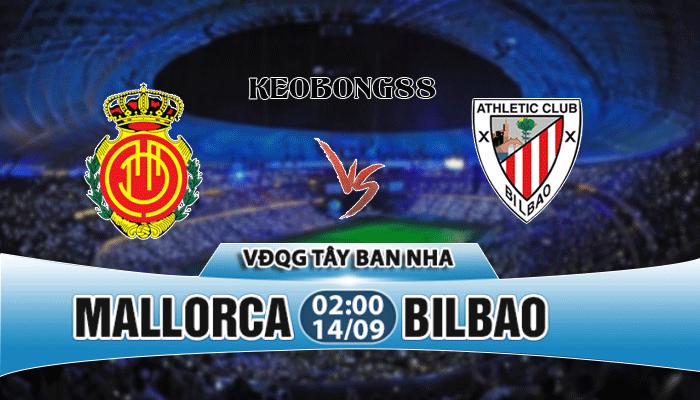 Nhận định Mallorca vs Bilbao, 02h00 ngày 14/9: VĐQG Tây Ban Nha