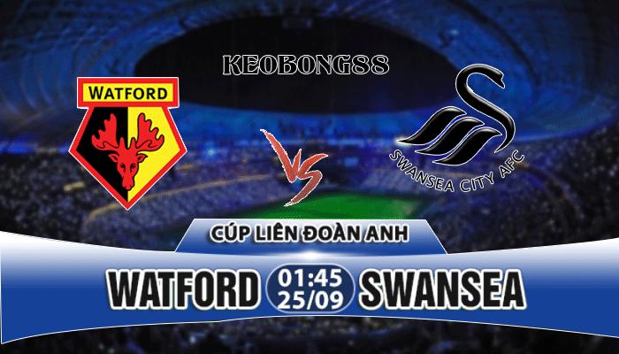 Nhận định Watford vs Swansea, 01h45 ngày 25/9: Cúp Liên đoàn Anh