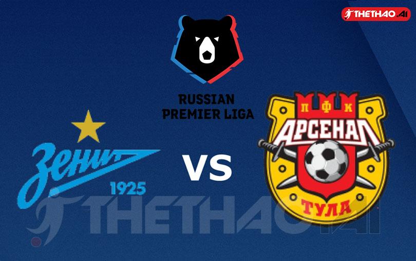 Zenit vs Arsenal Tula